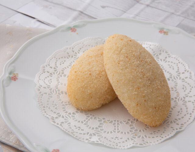 ヘルシー、カリカリ、スパイシー、グルテンフリー焼きカレーパン