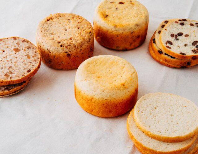 家庭で焼ける米粉パン!
